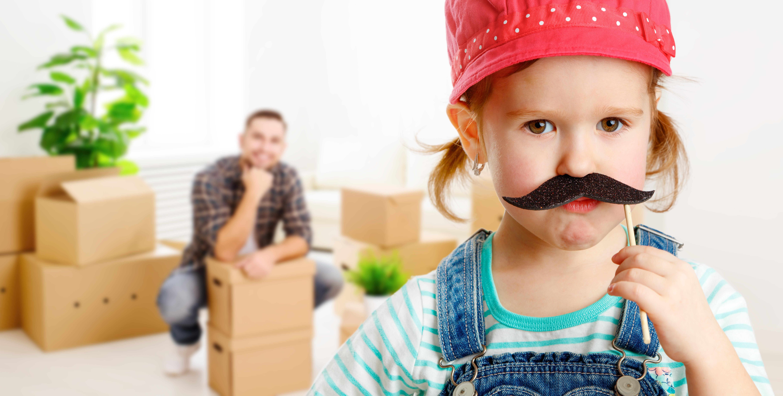 Famille déménagement image